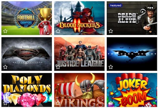 24Casinobet Casino Spiele