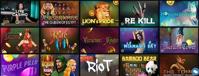 FireSlots Casino Spiele