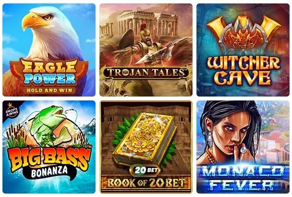 20bet Casino Spiele