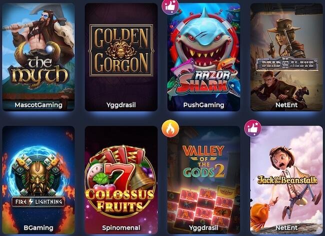 Betitall Casino Spiele