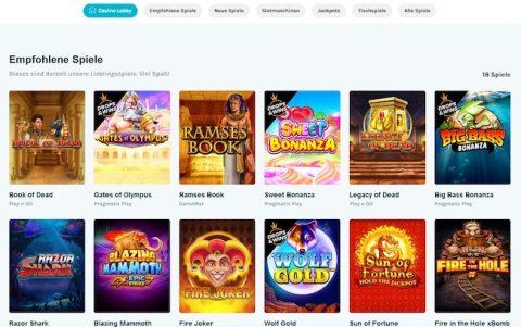 LuckyDays Casino Spiele