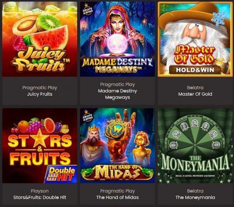 National Casino Spiele