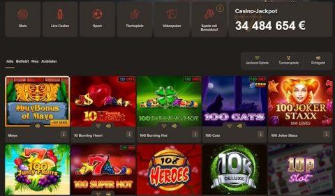 Sol Casino Spiele