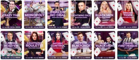 Tsars Casino Live Casino